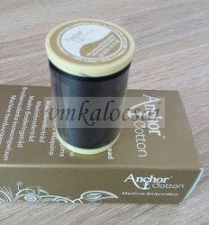 Anchor gépi hímző fekete (10gr)