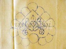 Szív alakú virágos alátét (DRT131117)