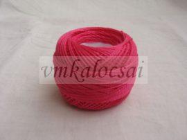 Sötét rózsaszín perlé fonal