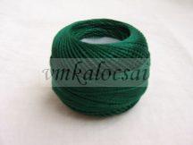 Sötétzöld perlé fonal