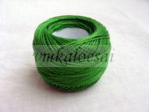 Világos zöld perlé fonal
