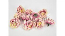 Fodros virágfej cirmos magenta