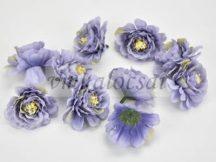 Fodros virágfej, lila