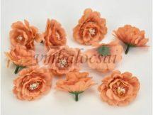 Narancs fodros virágfej