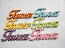Vegyes színü Tavasz felirat (8x3cm)